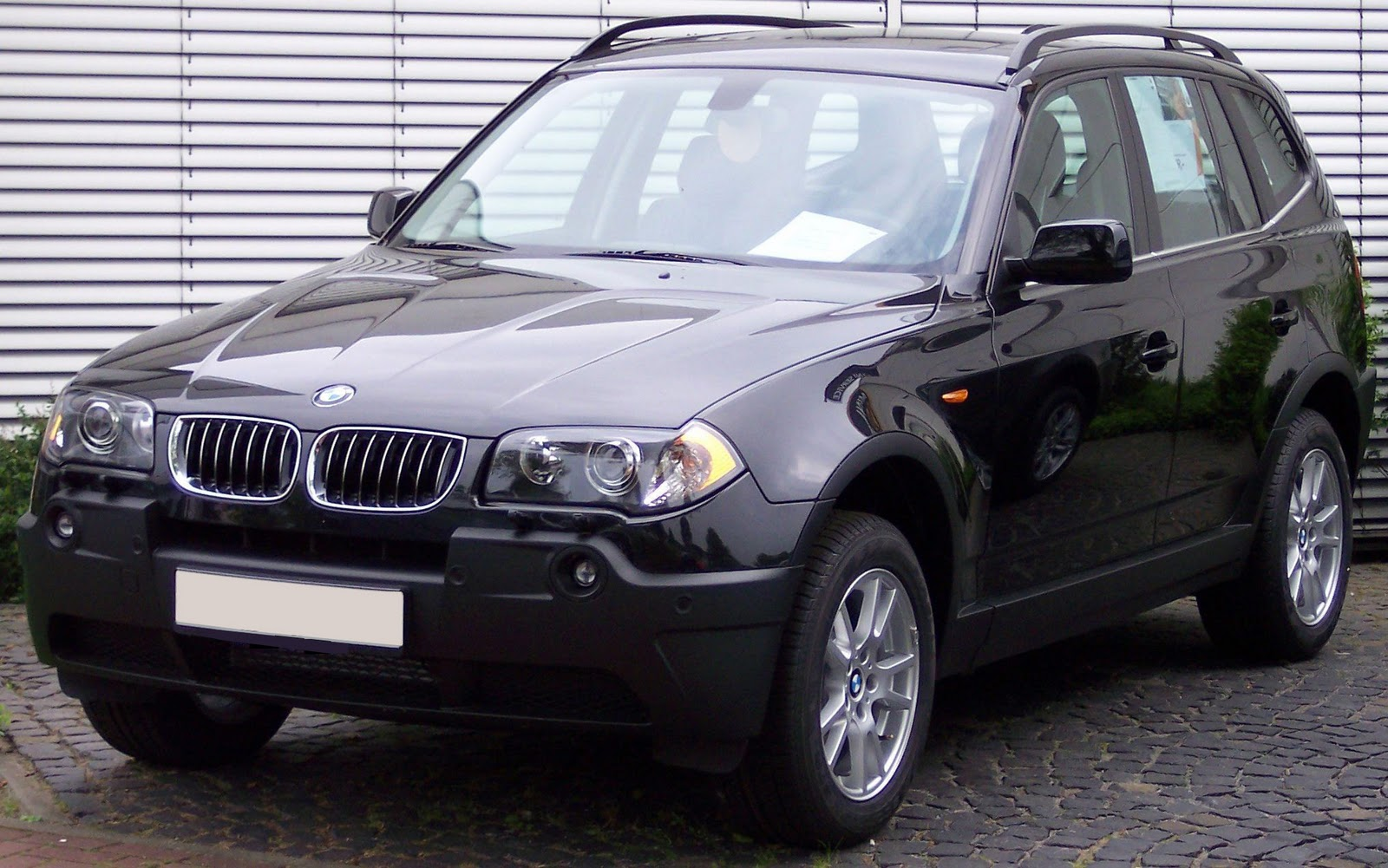 Bmw Automobiles Bmw X3 2010 Black