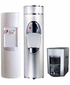 Bottle Less Water Cooler - Counter top filtration system