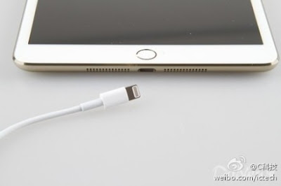 iPad mini Gold Touch ID ictech