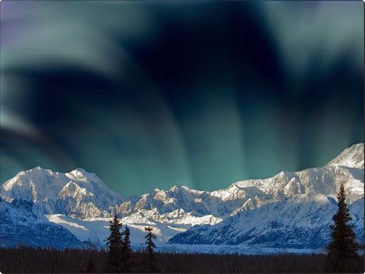 Aurora Borealis Over Mount McKinley, Denali National Park, Alaska.jpg