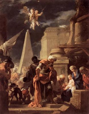 Sébastien Bourdon - Adoration of the Magi