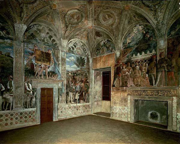La favola della botte mantova palazzo ducale l arte for Oculo della camera degli sposi