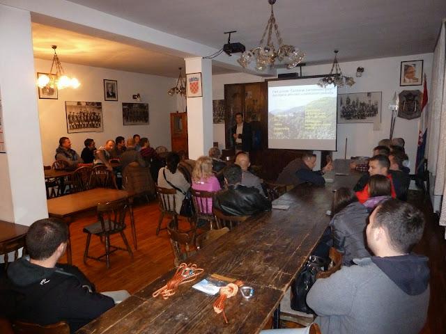 Planinarska škola 2014. - predavanja