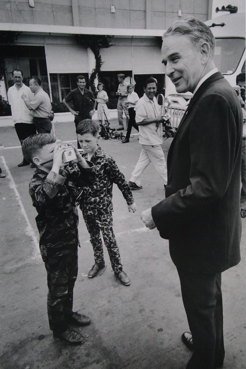 Kids Take A Photograph Of Maxwell Taylor By Larry Burrows 1965