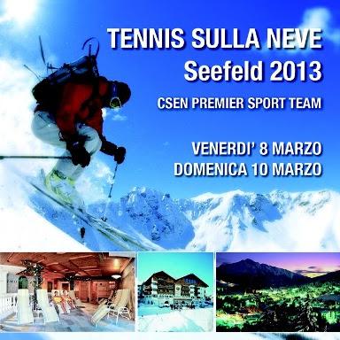 Tennis sulla Neve a Seefeld, in Austria