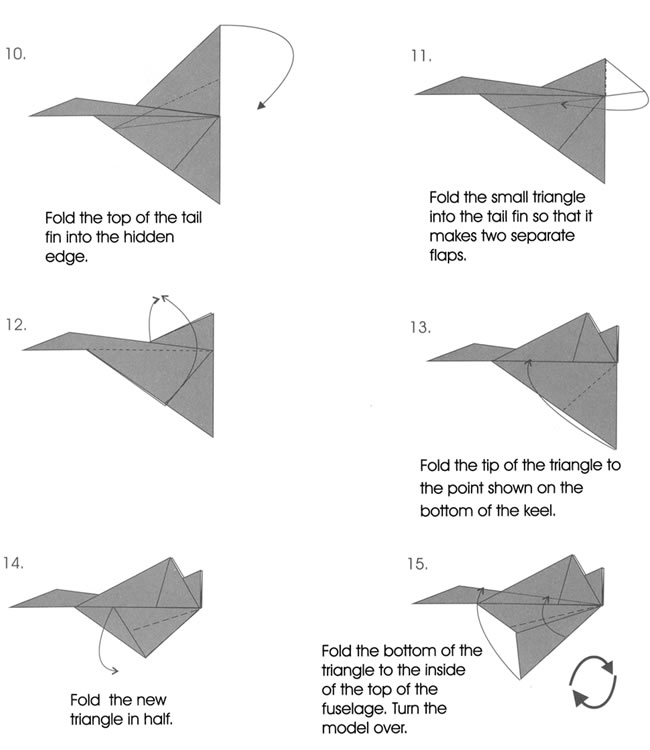 different paper airplanes and how to make them