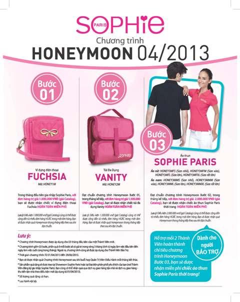 Chương trình Honeymoon 04/2013