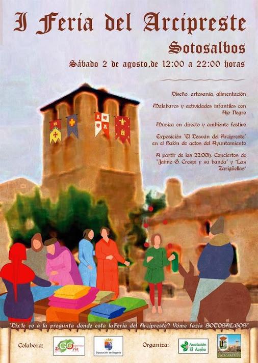 Cartel I Feria del Arcipreste