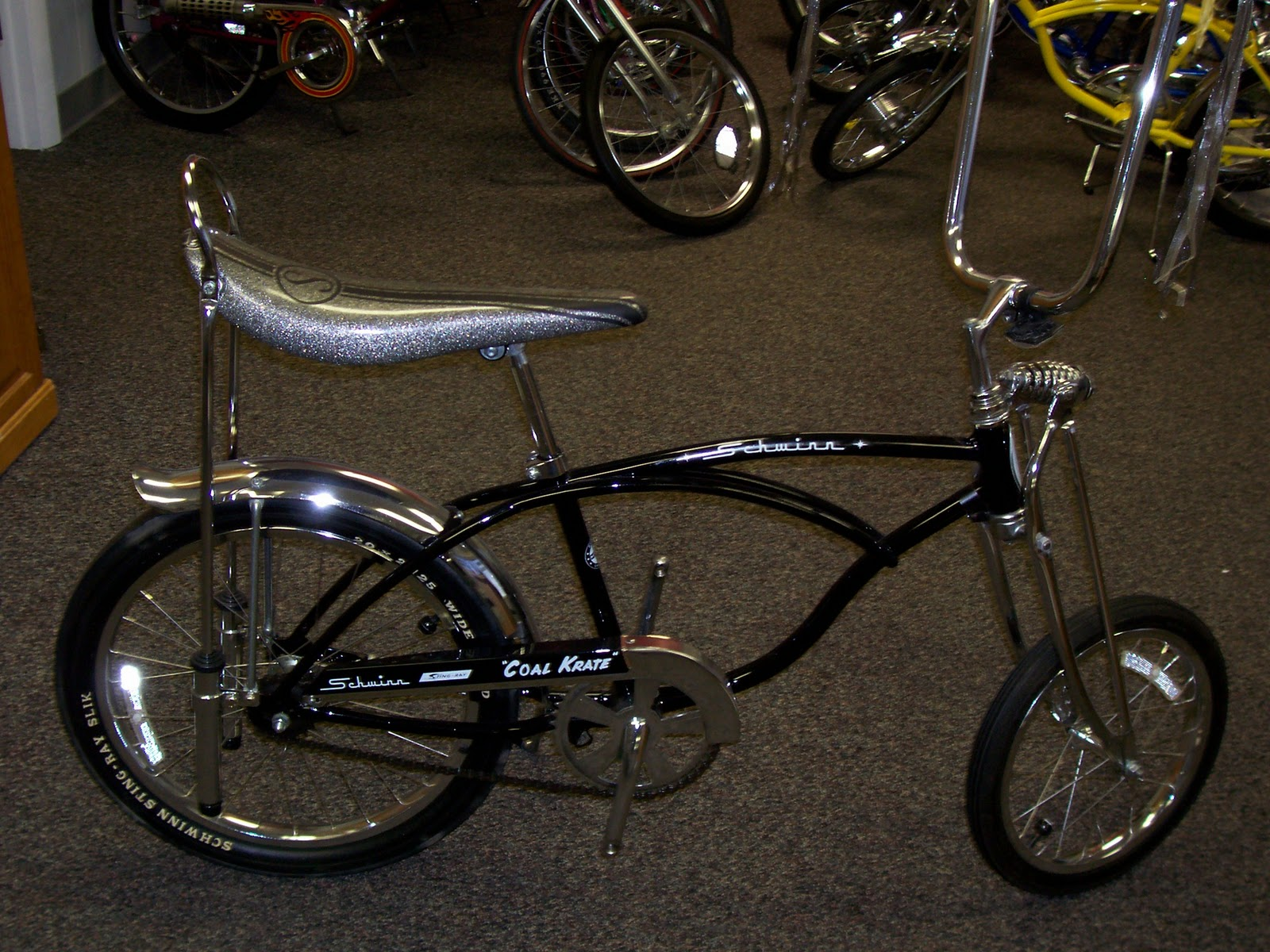 The Raleigh Chopper Blog Steve 1999 Schwinn Repo Coal
