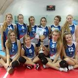 20141115 TurniejKadetekKrzanowice II miejsce w Krzanowicach
