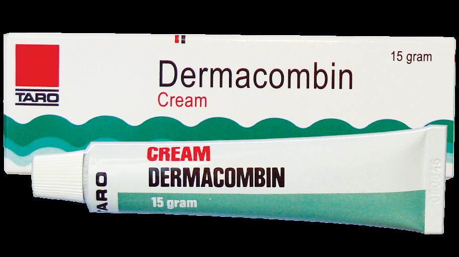 დერმაკომბინი/Dermacombin