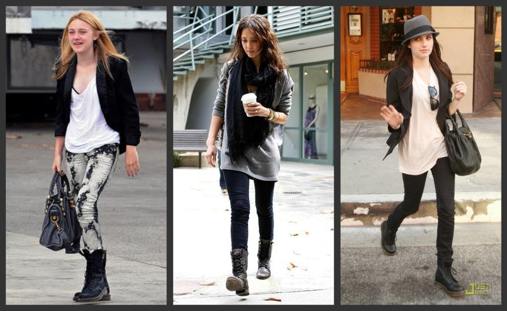 Gran fanatica de estas botas es Rihanna quien las combina con varias prendas.