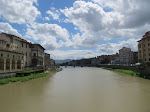 The River Arno and beautiful weather