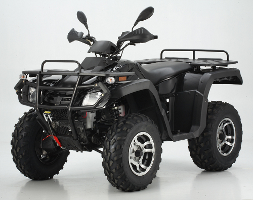 550cc EFI V-twin Farm ATV 4x4 Quad Bike Black
