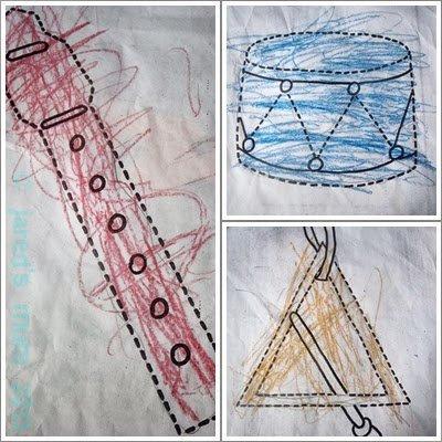 pre-schooler, playschool, children art, Kids in Doodles