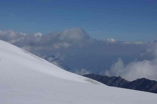Sans doute du col supérieur du Tour, le versant suisse