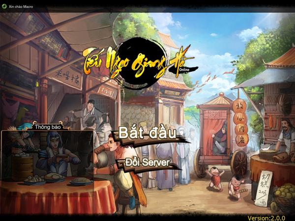 Tiếu Ngạo Giang Hồ của Soha Game là game mobile 4