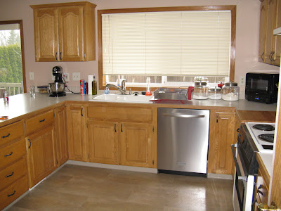 What would you do with this kitchen 1990s golden oak for 1990 kitchen cabinets