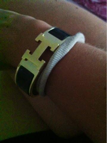 armcancy, käsikoru, bracelet, hermes, mustakulta, blackandgold, hermesbracelet,