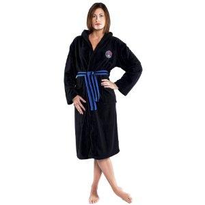 nebulus peignoir polar ii robe de chambre ultra douce pour femme noir q201 natation. Black Bedroom Furniture Sets. Home Design Ideas