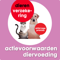 actie voorwaarden diervoeding