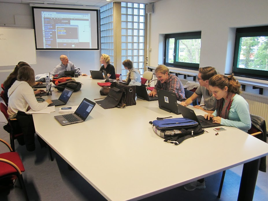 Programming workshop at Twente