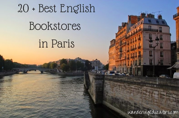 20 + Best English Bookstores in Paris