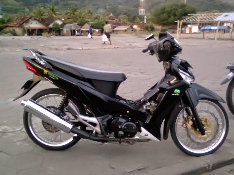 Foto Modifikasi Supra X 125 Ceper