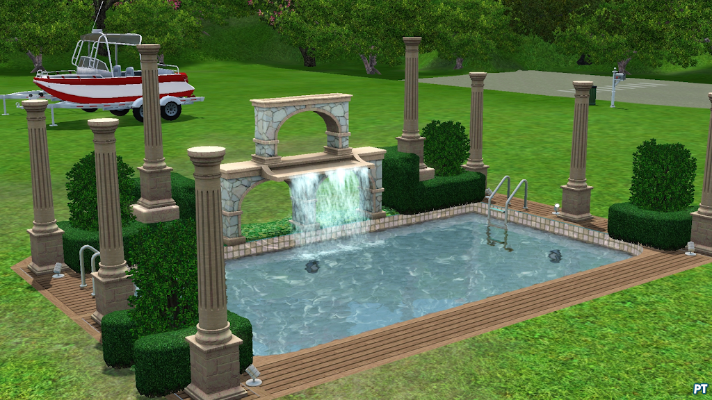 Island paradise expansion pack for Sims 4 piscine a debordement