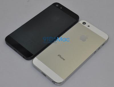 iPhone5のバックパネルとされるパーツ:9to5Mac