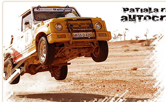 Patiala Rally Autocross Website