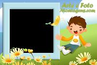 molduras-para-fotos-gratis-flores-menino