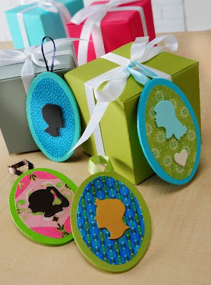 Silhouette Gift Tags