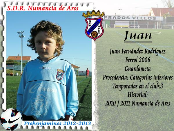 ADR Numancia de Ares. Juan.