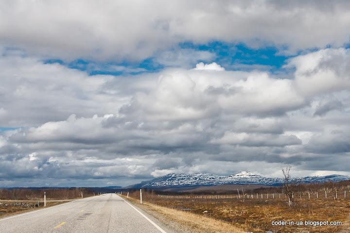дорога на нордкапп.финляндия-норвегия