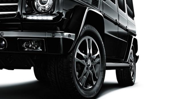 *Mercedes-Benz G550 「Night Edition」震撼黑夜登場:日本獨佔限量100台! 3