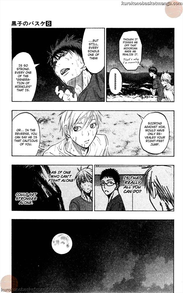 Kuroko no Basket Manga Chapter 62 - Image 17