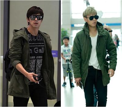 U-Know Yunho vs TOP, Aeropuerto Fashion Doppelgangers?  Yunhotopaeropuerto