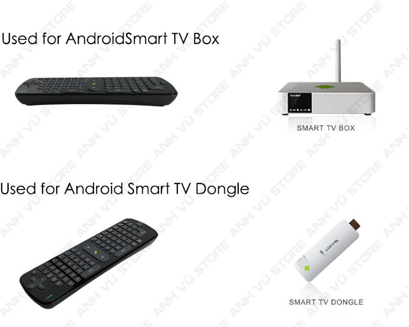 Measy RC11 Bàn phím chuột bay không dây cho Android TV Box 09