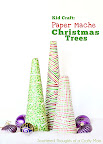 Paper Mache Christmas Trees