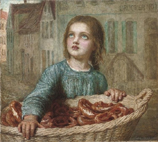 Karl Wilhelm Friedrich Bauerle - The little pretzel seller