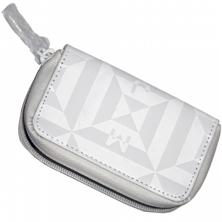 Marc by Marc Jacobs Rubix Coin Purse White Tonal