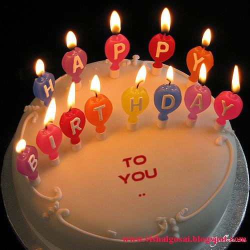 Birthday Cake Image Vishal : VISHAL GOSAI: Happy Birthday Wishes