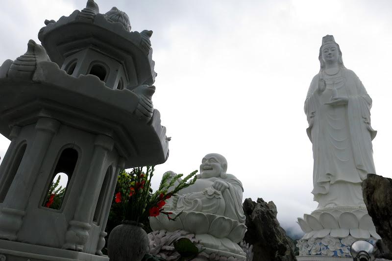 Buddha and Bodhisattva Statue of Mercy