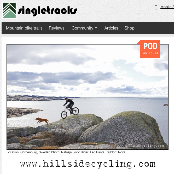 Photo of the Day on Singletracks.com