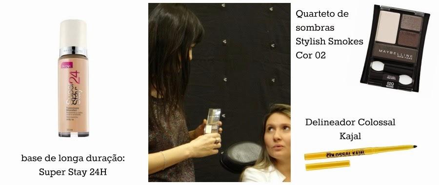 Workshop Maybelline Com Vanessa Rozan - maquiagem noite