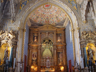 Inside church photo - Capela Universidade Coimbra