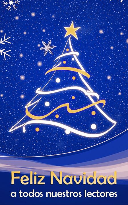 Feliz Navidad 2012 a todos nuestros lectores