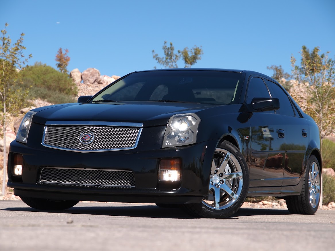 buy used one badass caddy 2004 cts v ls6 cammed long tube. Black Bedroom Furniture Sets. Home Design Ideas