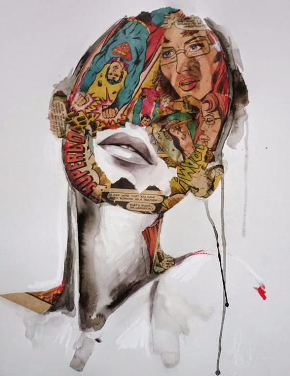 *另類的方式閱讀超級英雄:SANDRA CHEVRIER 畫出女性的英雄情節 13